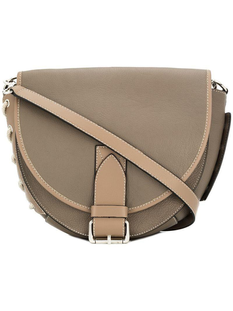 Lyst - J.W. Anderson Saddle Bag in Natural 59a2bd4058081