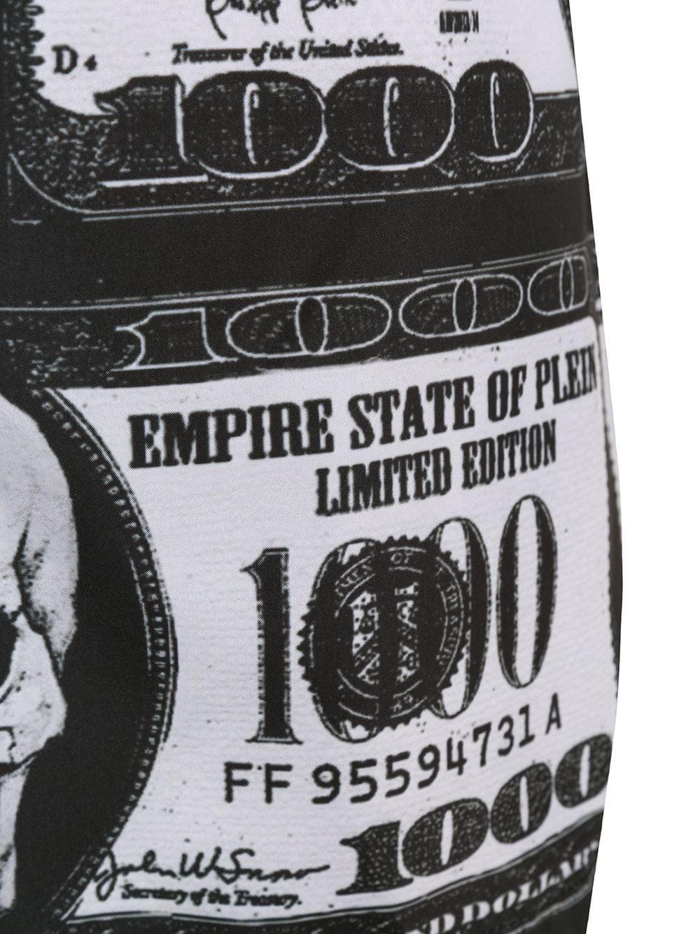 1befca8ed9 Lyst - Philipp Plein Dollar Bill Print Swim Shorts in Black for Men