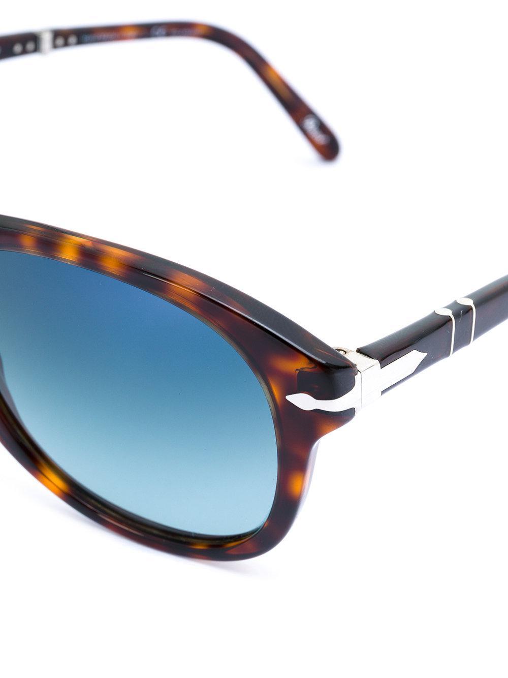 Persol Foldable Steve Mcqueen Sunglasses in Brown