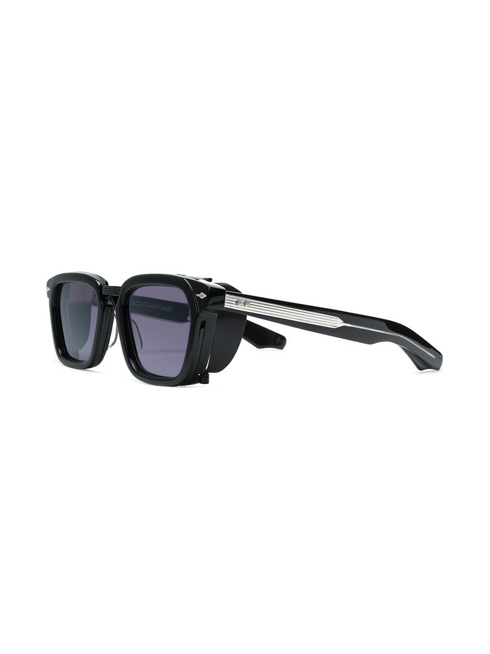 Jacques Marie Mage Borodino Sunglasses in Black
