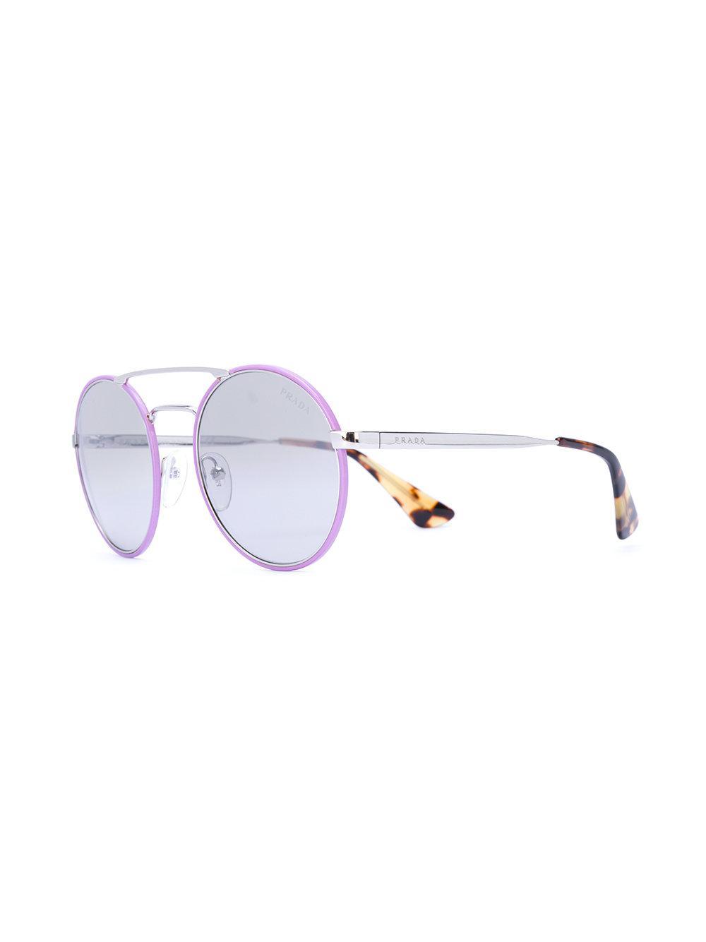 Prada Cinema Round Sunglasses