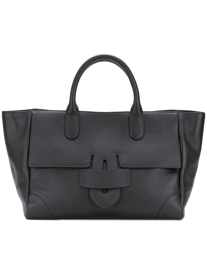 Zelig medium contrast trim tote - Black Tila March Cheap Sale Hot Sale Clearance Visa Payment Cheap Price In China 5PyCn6