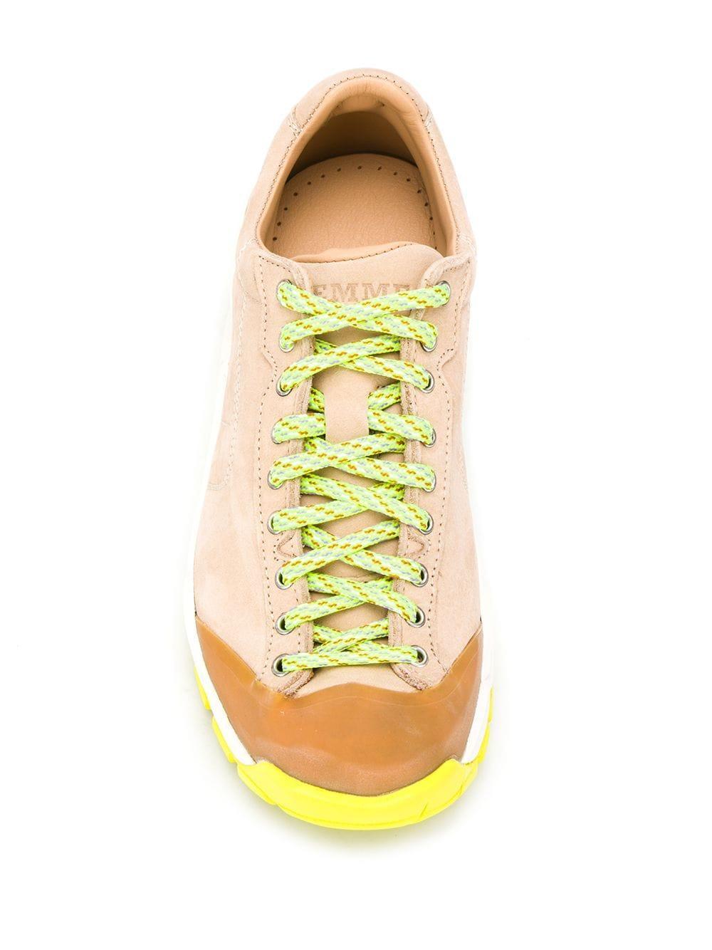 Zapatillas con cordones en contraste Diemme
