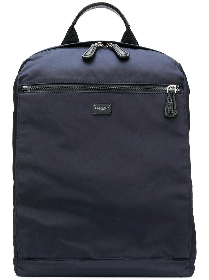classic backpack - Blue Dolce & Gabbana Where Can You Find Discount Release Dates Sale Footlocker Pictures Clearance Newest 53OjZ