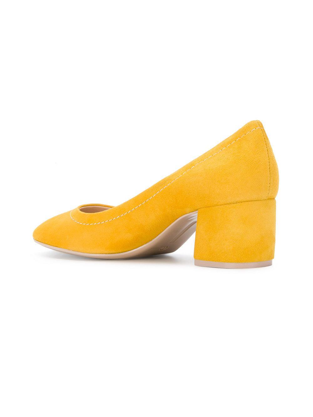 mid heel pumps - Yellow & Orange Roberto Festa Milano rhY8wy