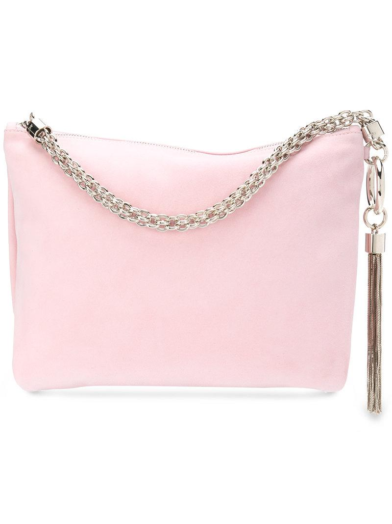Callie embellished suede clutch Jimmy Choo London yGcuuth