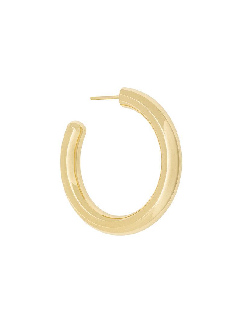 Maria Black Ruby 35 hoop earring - Metallic eobyb8