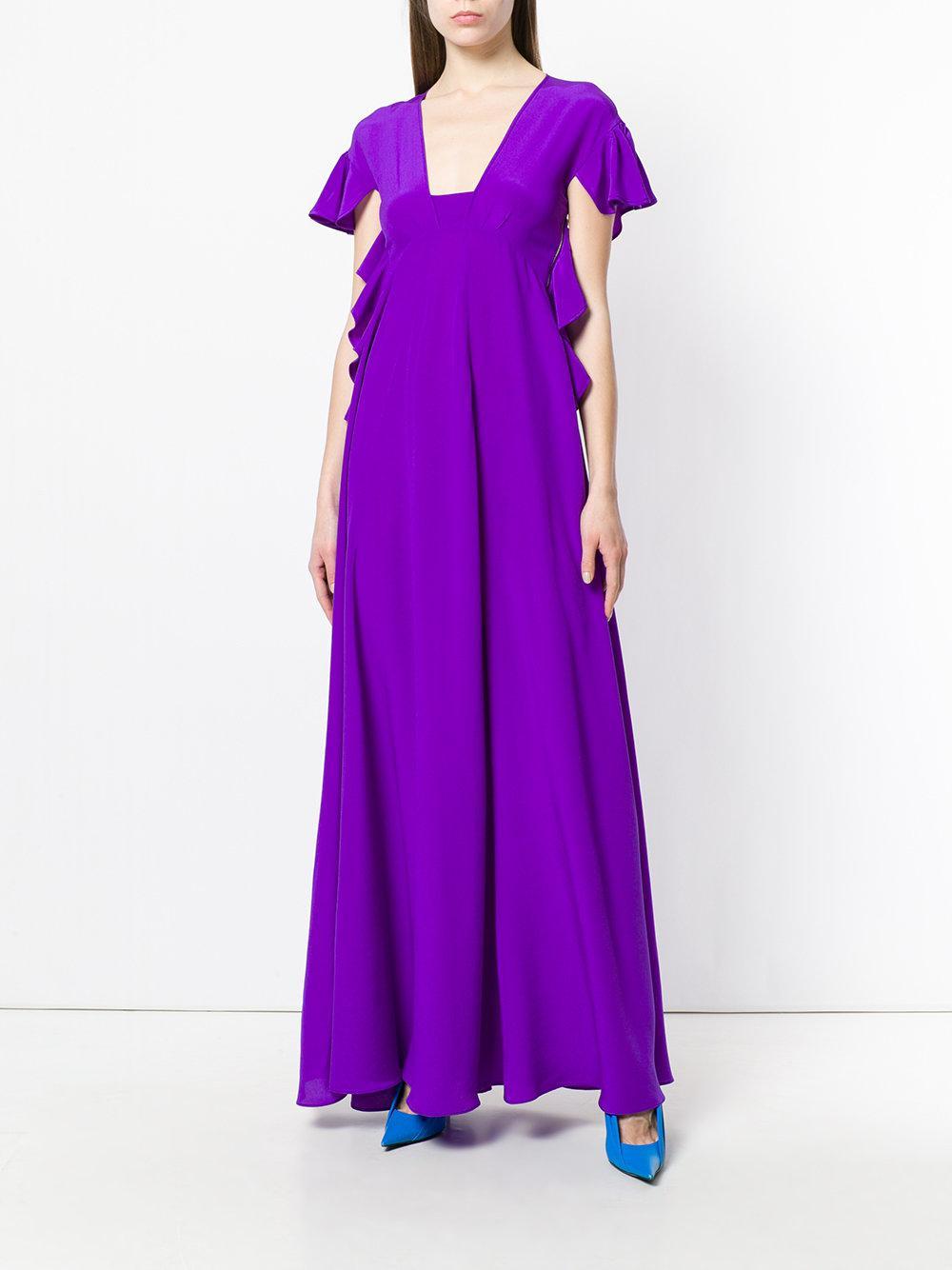empire gown - Pink & Purple Rochas wlrISSQV