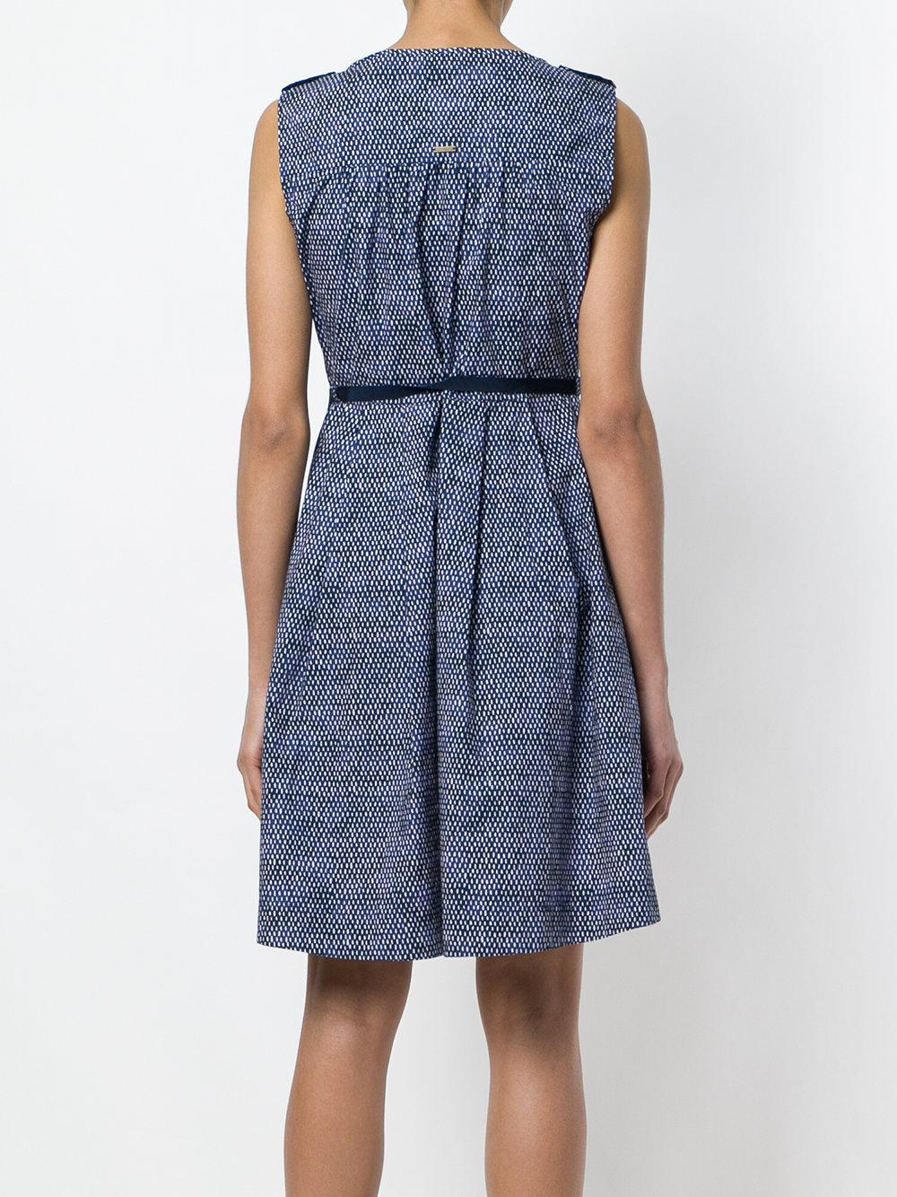 belted flared dress - Blue Woolrich Purchase Cheap Price With Mastercard Cheap Online 8nrHHG