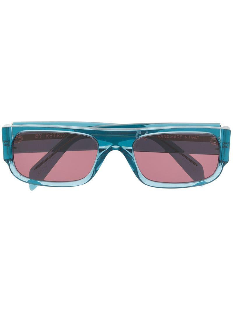 697868d9f3a8 Retrosuperfuture - Blue Smile Sunglasses - Lyst. View fullscreen