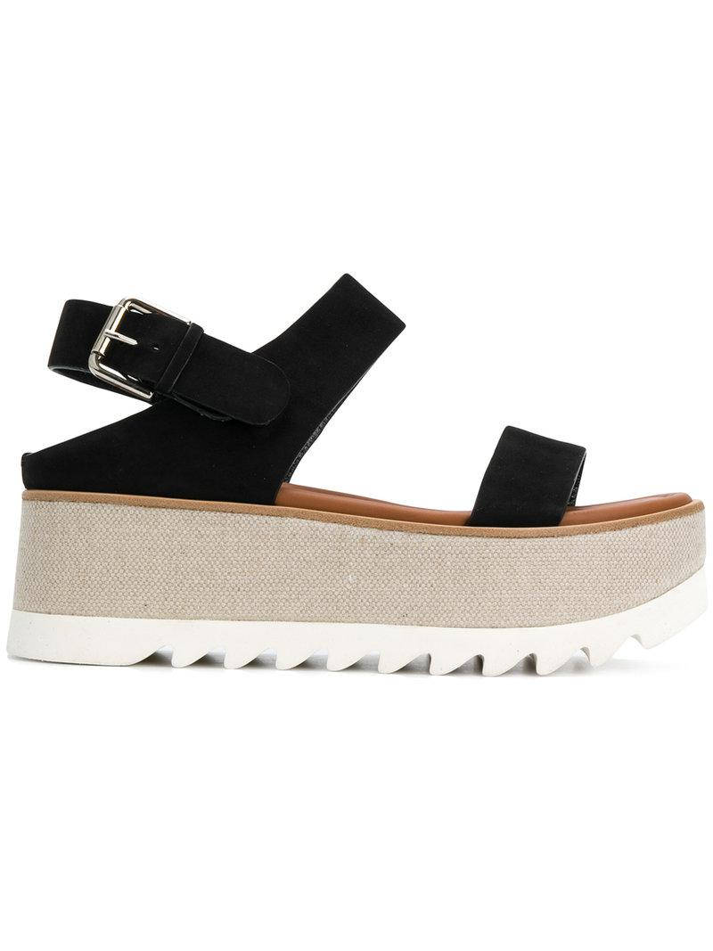 platform open-toe sandals - Black Premiata chIVqX