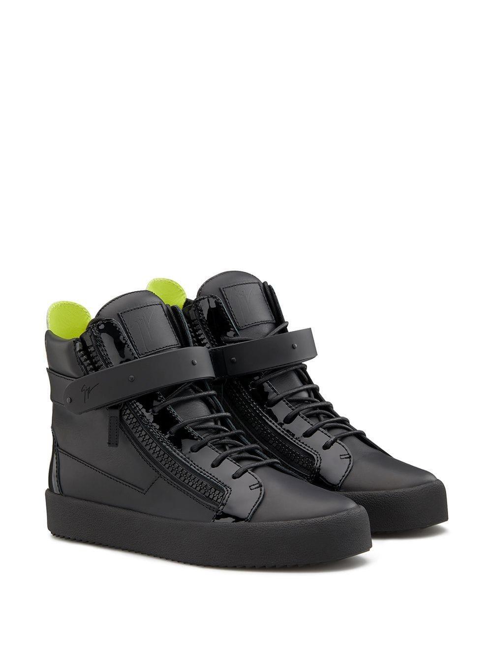 Giuseppe Zanotti Addy Sneakers in het Zwart voor heren