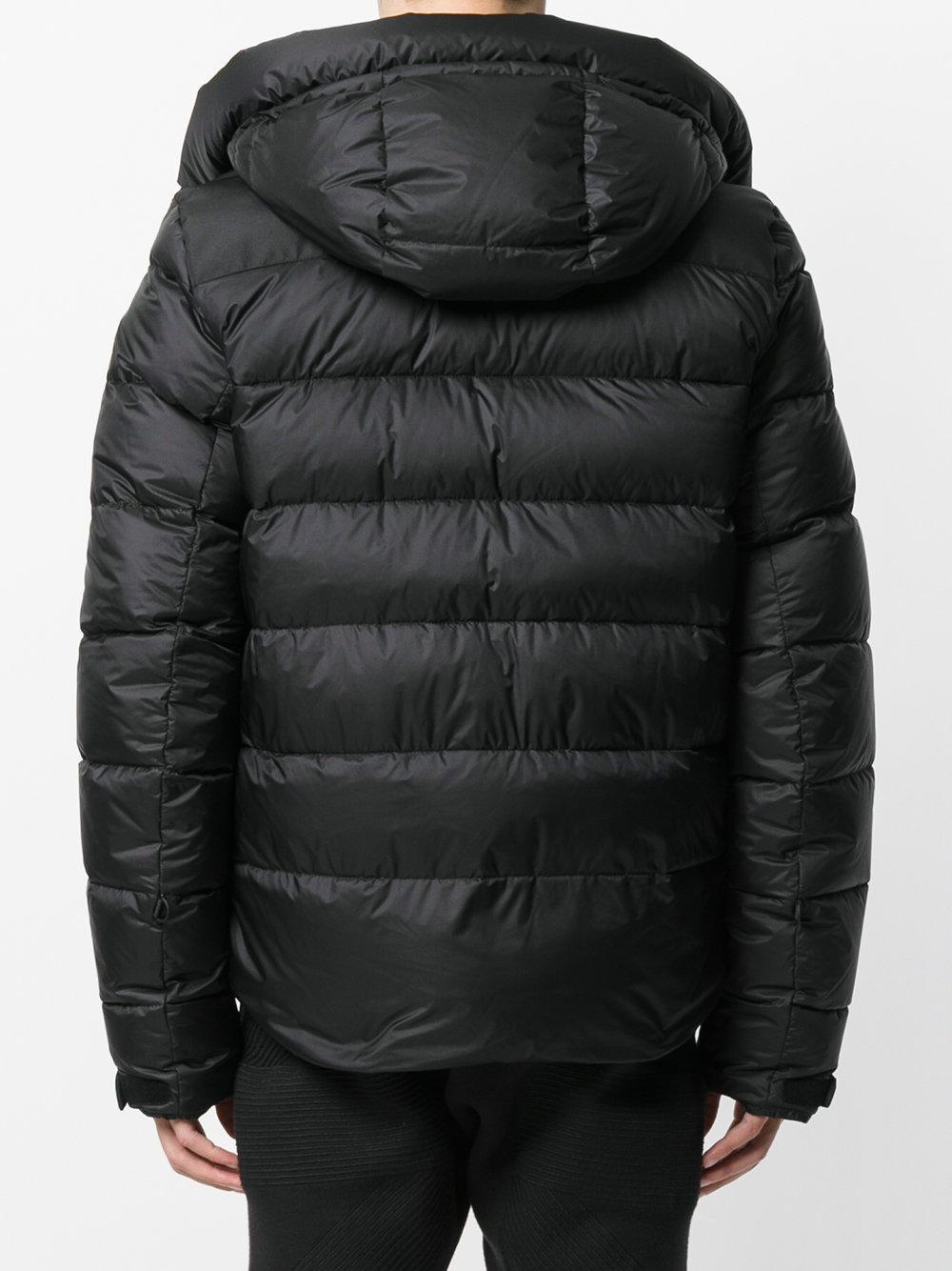3 MONCLER GRENOBLE Synthetic Camurac Winter Jacket in Black for Men