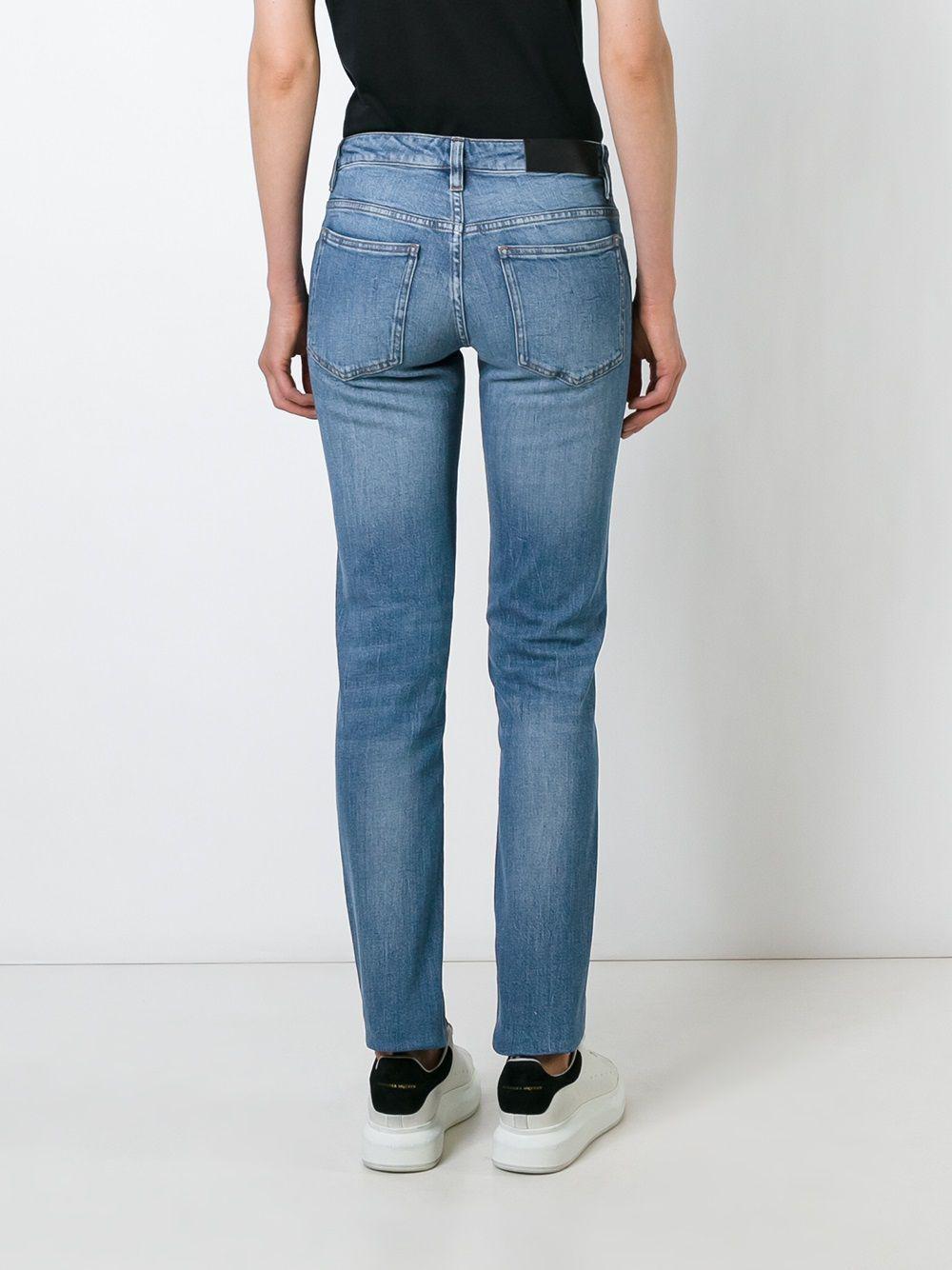 Victoria, Victoria Beckham Denim Skinny Jeans in Blue