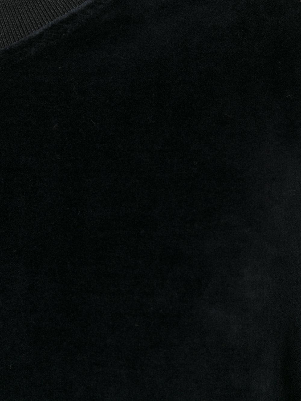 Represent Cotton Velour Sweatshirt in Black for Men