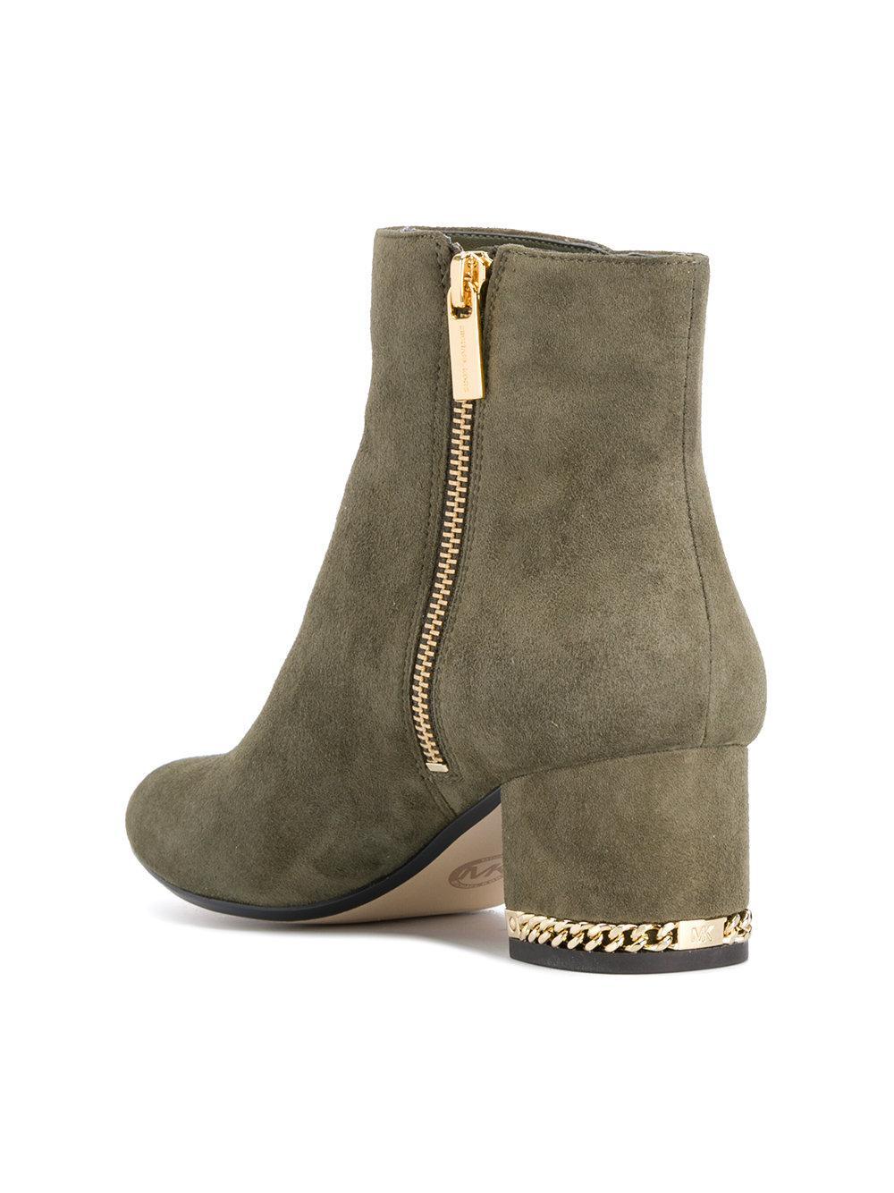 Michael Kors Brown Wedge Heel Shoes For Women