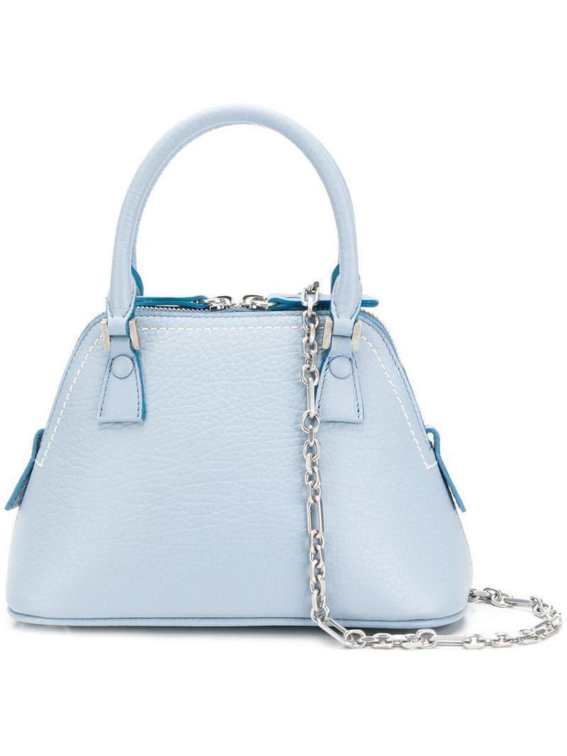 Lyst - Maison Margiela Mini 5ac Tote Bag in Blue 9a02ba599cb66