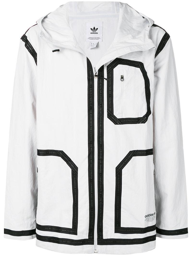 e541afcde3a00 adidas Nmd Field Jacket in White for Men - Lyst