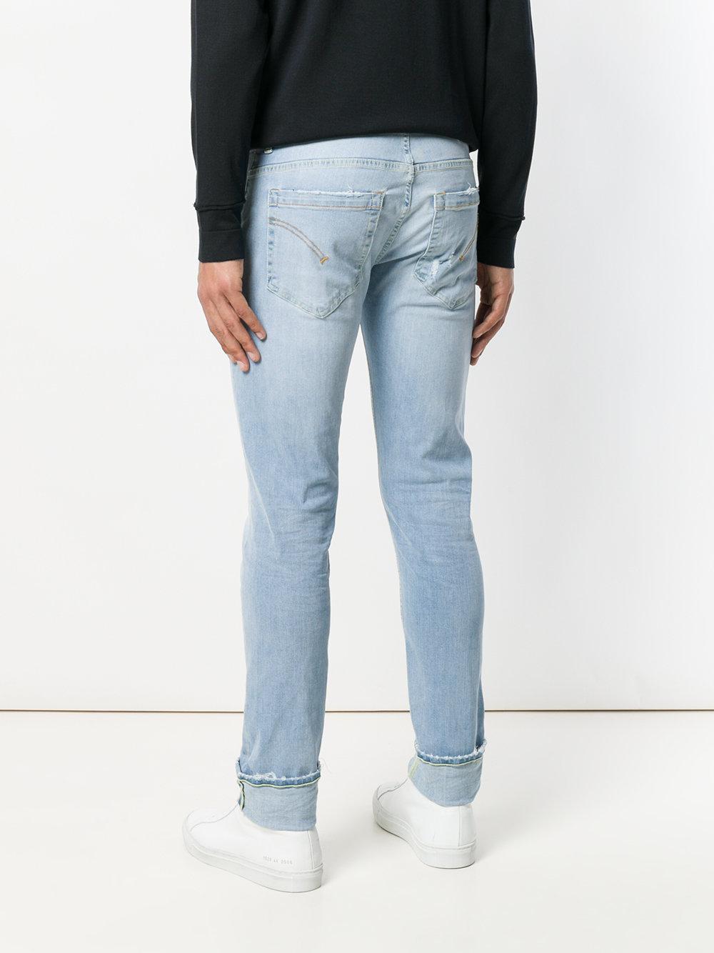 Dondup Slim-fit Denim Jeans in Blue for Men