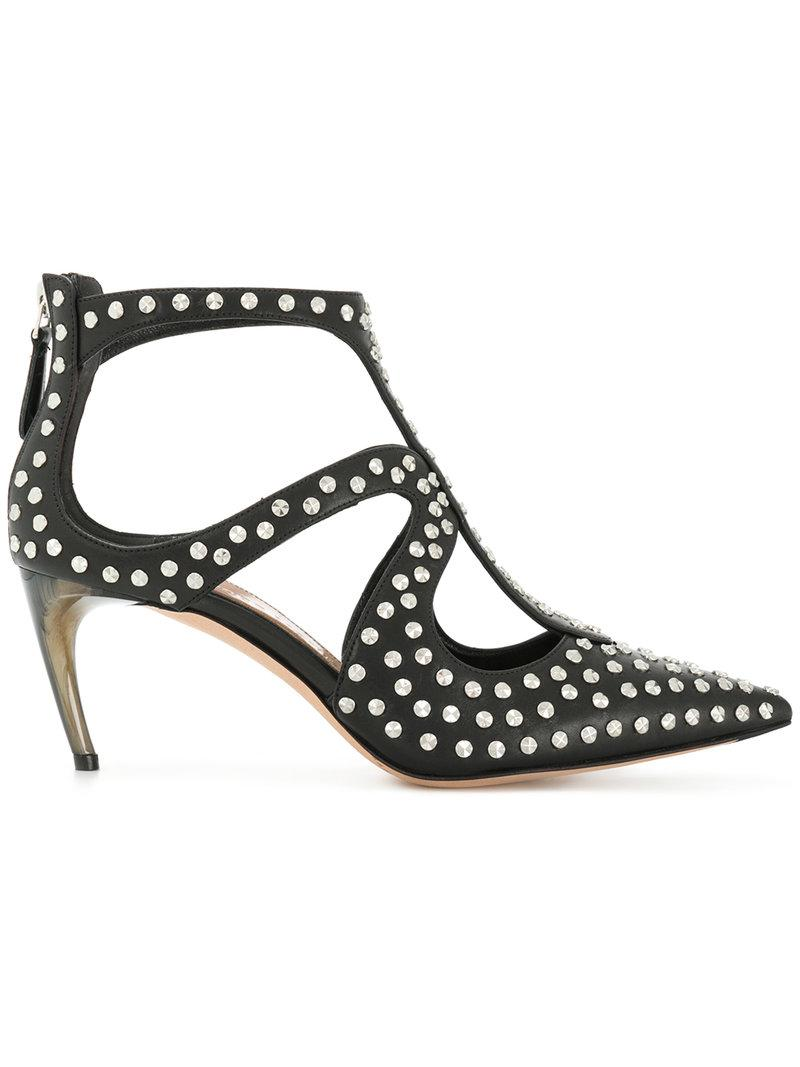 studded pointed toe pumps - Black Alexander McQueen qMidZA