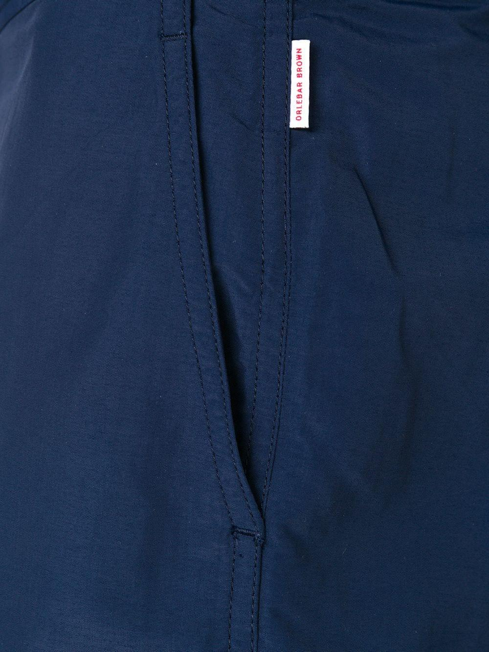 Orlebar Brown Getailleerde Shorts in het Blauw voor heren