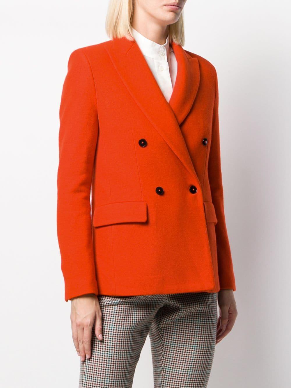 Blazer Cleope Laines Barena en coloris Orange