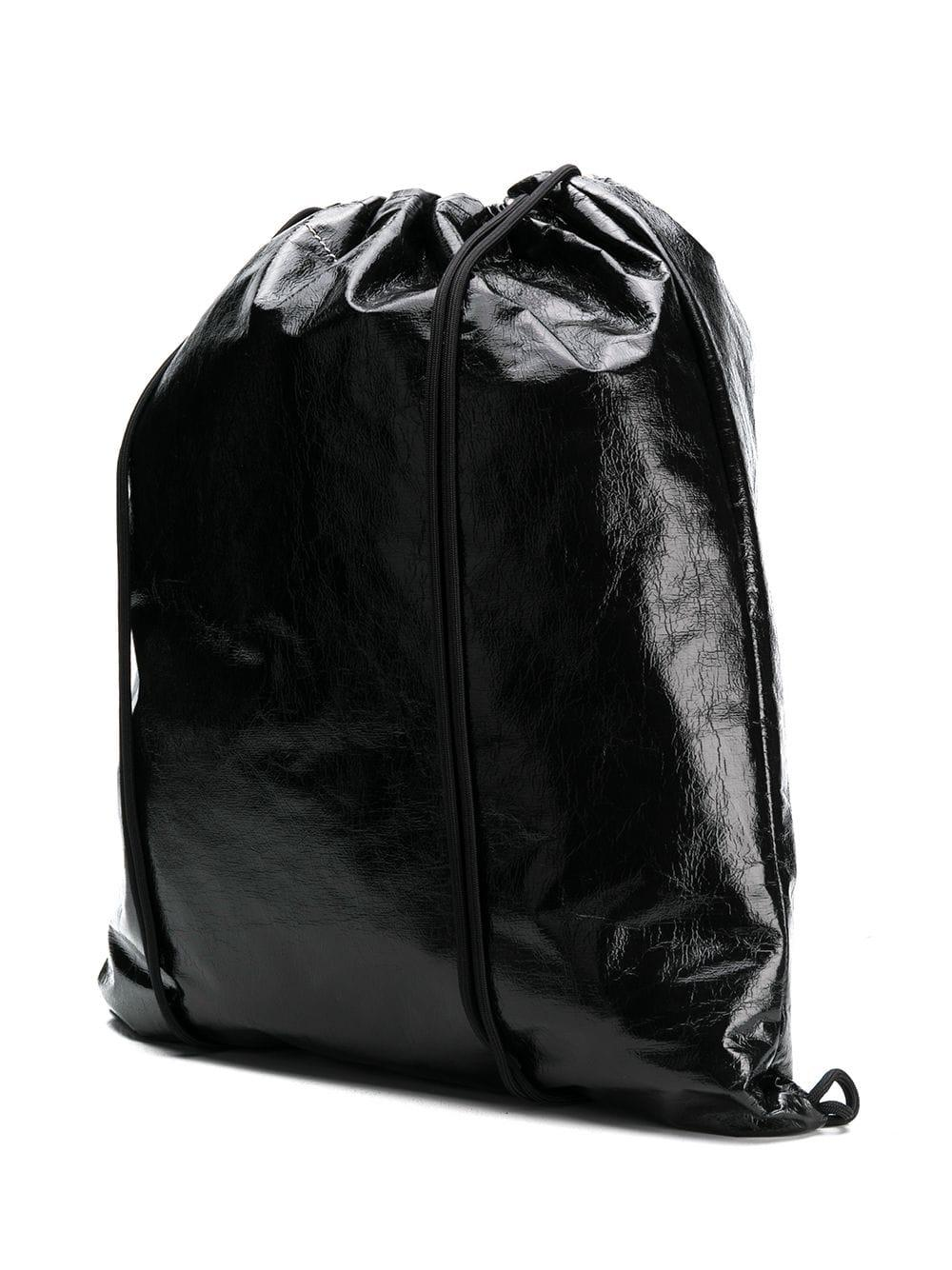 9056a942dc Lyst - MM6 by Maison Martin Margiela Drawstring Backpack in Black