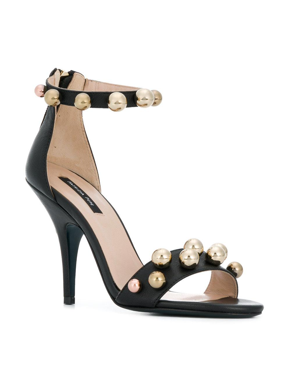 Perfect Cheap Online Free Shipping Choice beaded sandals - Black Patrizia Pepe Outlet With Paypal Order Online Buy Cheap Shop For cAvNOz9Ls