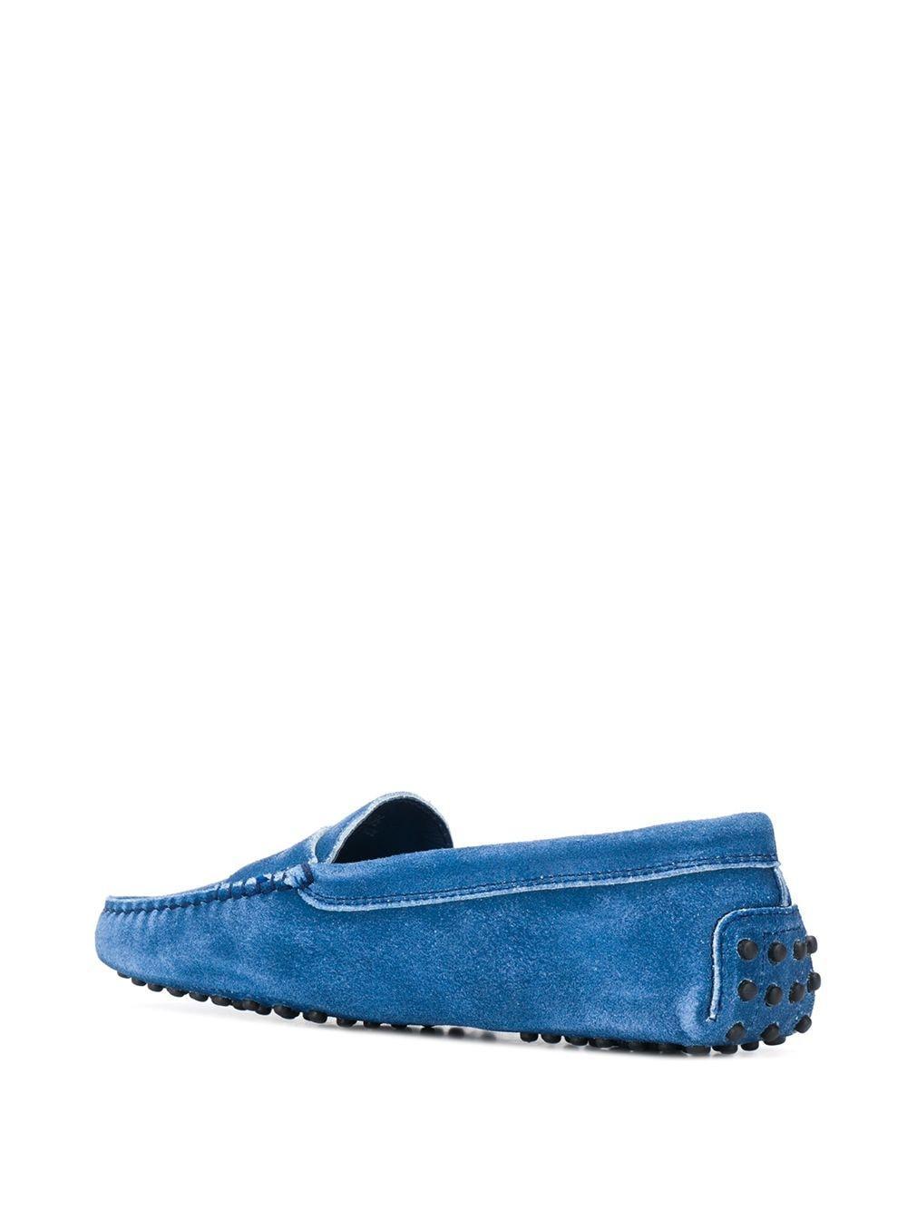 Mocasines penny Gommino Tod's de Cuero de color Azul