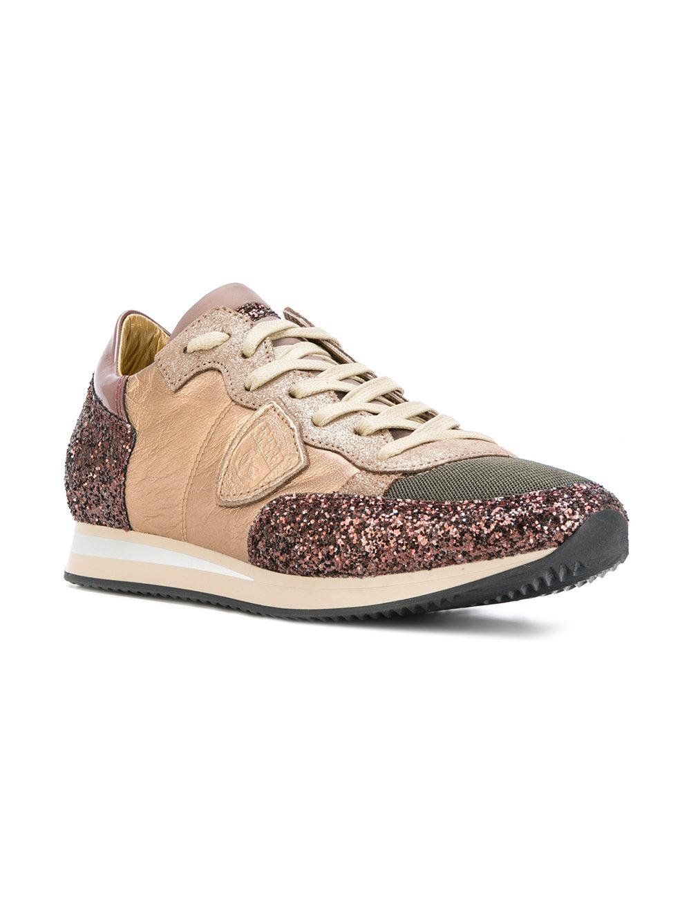 glitter panel sneakers - Multicolour Philippe Model XZaEtDV