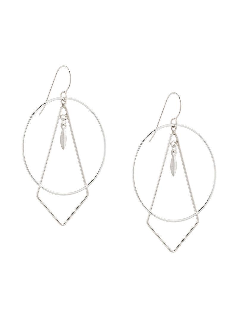 The Maiden earrings - Metallic PetiteGrand TiDDjDba