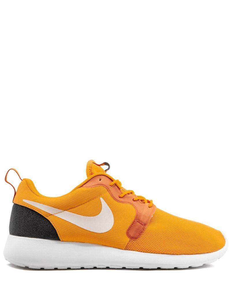 super popular 9f671 61d0b Nike. Men s Yellow Rosherun Hyp Sneakers