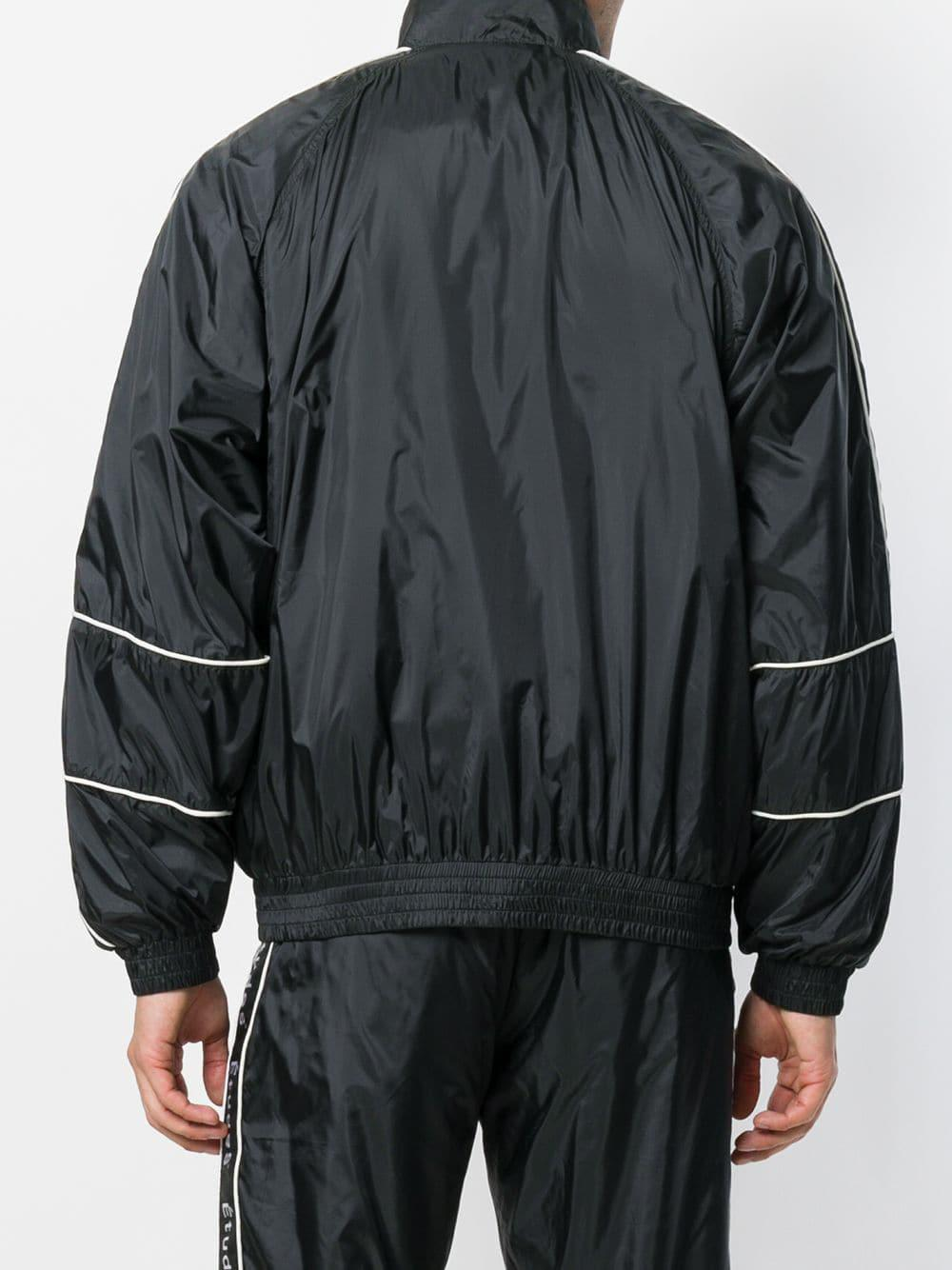 Black Logo In For Strap Track Jacket Men Studio Etudes Lyst Hw5AqYx