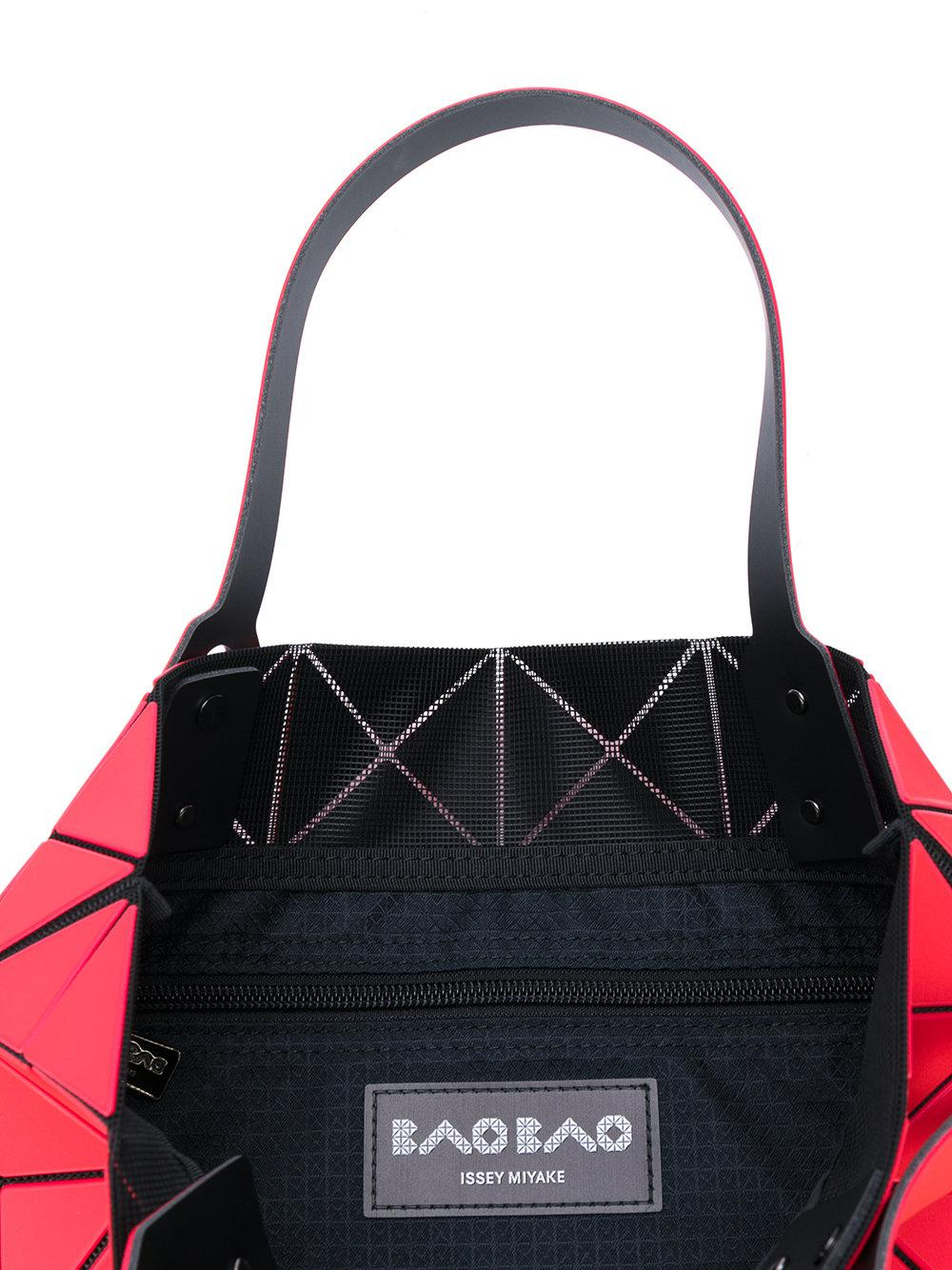Bao Bao Issey Miyake Synthetic Prism Tote in Red