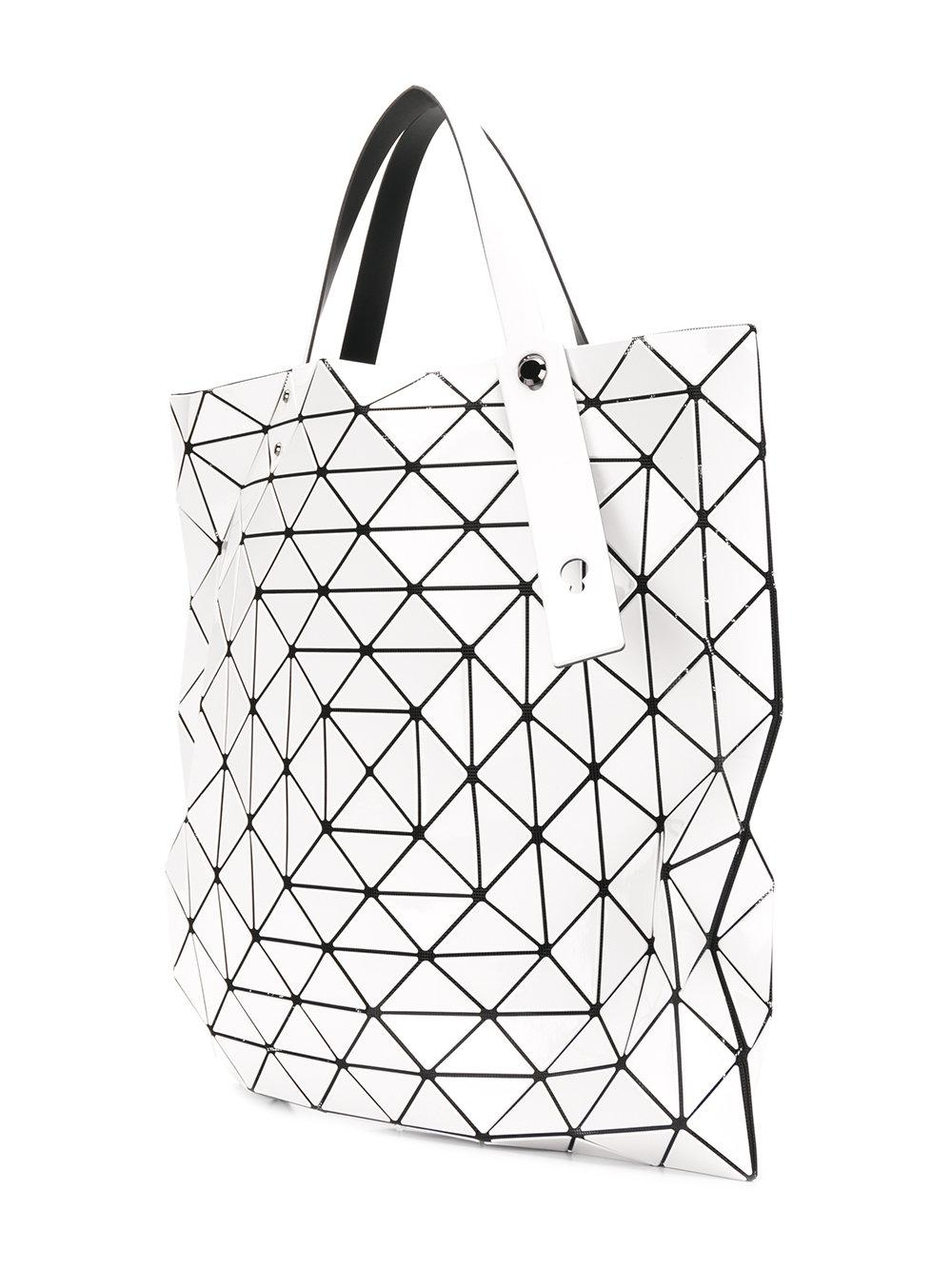 Bao Bao Issey Miyake Synthetic Prism Tote in White