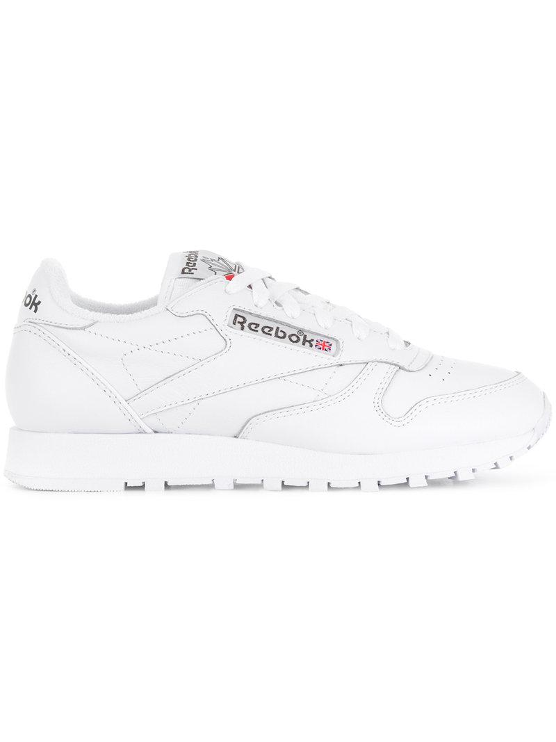 67fa157c4ead6 Lyst - Reebok  s Classic Leather Low-top Sneakers White in White