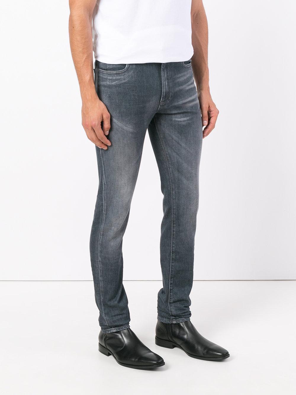 Maison Margiela Denim Slim-fit Jeans in Grey (Grey) for Men