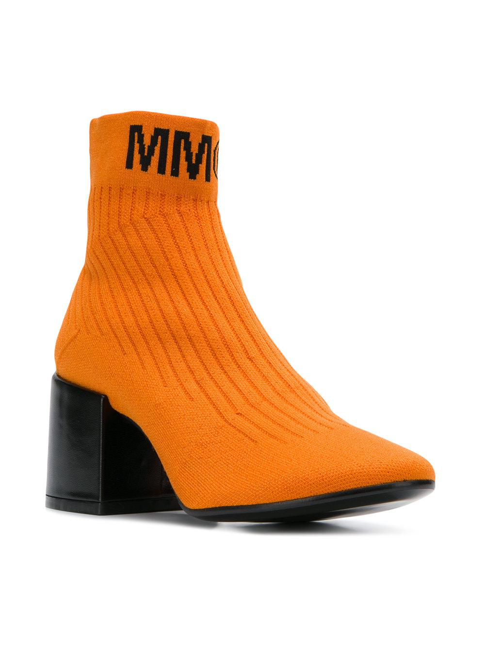 Flare sock boots - Yellow & Orange Maison Martin Margiela For Sale Cheap Price Free Shipping Outlet Store Outlet Deals Outlet For Nice 9jDJD