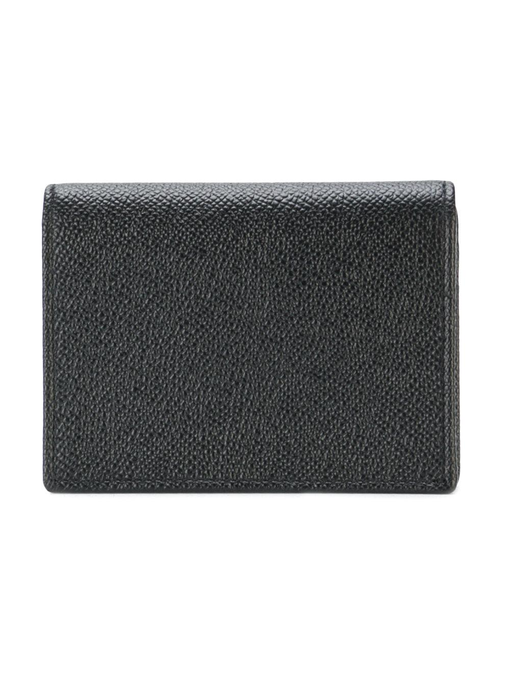 24ac9881dc Lyst - Dolce & Gabbana Logo Foldover Wallet in Black for Men