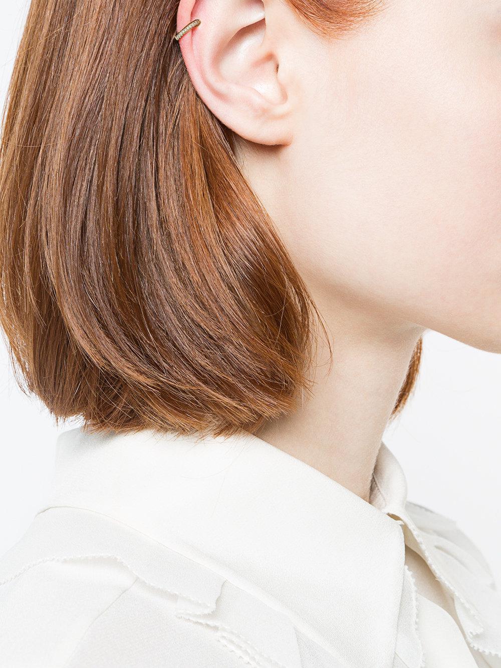 EF Collection Ear Cuff Earring in Metallic