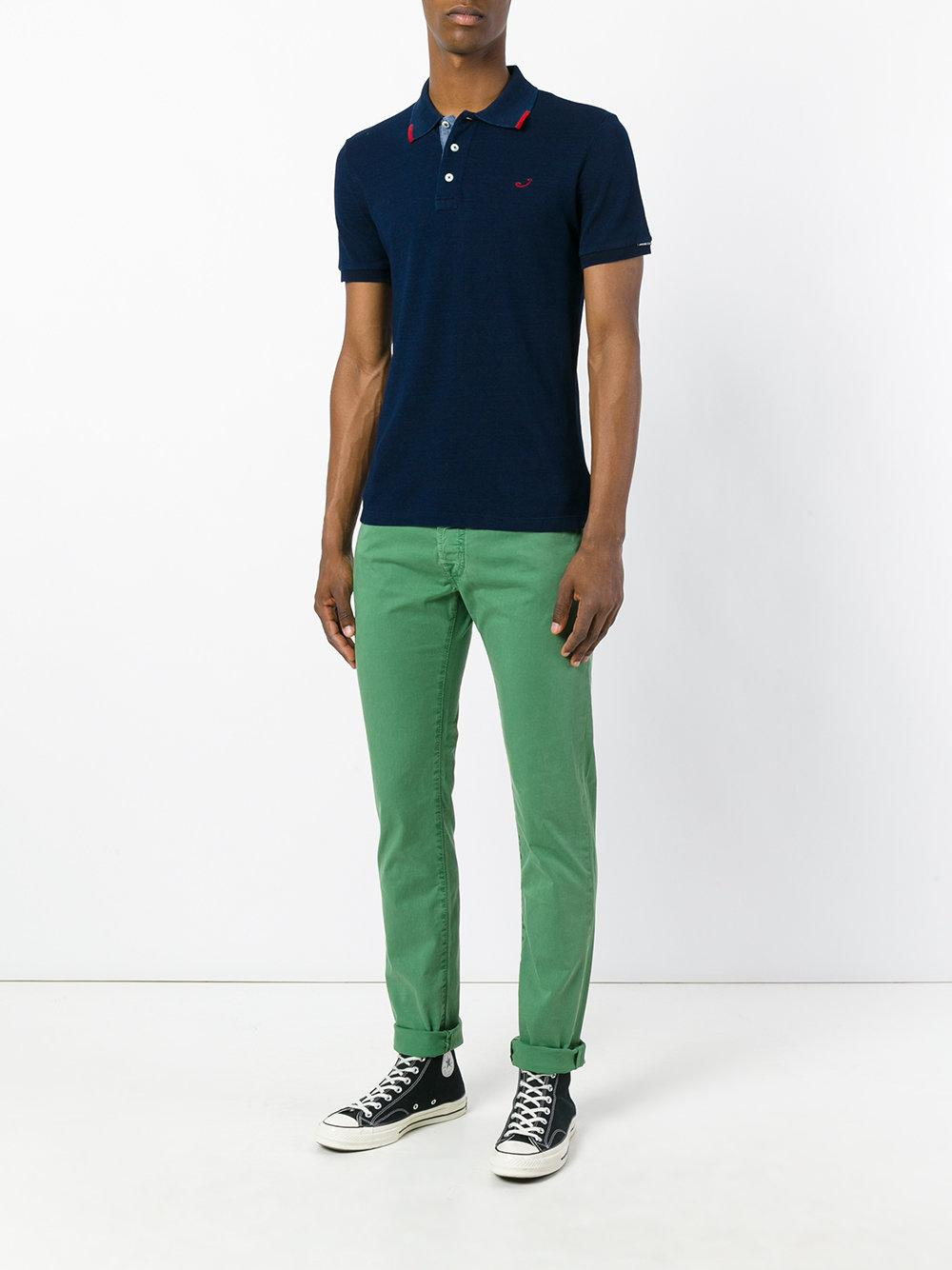 Jacob Cohen Cotton Tapered Jeans in Green for Men