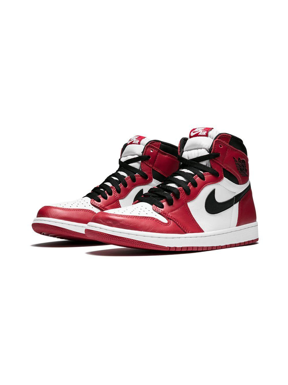 790df96e7c8e2f Nike - White Air 1 Retro High Og Sneakers for Men - Lyst. View fullscreen