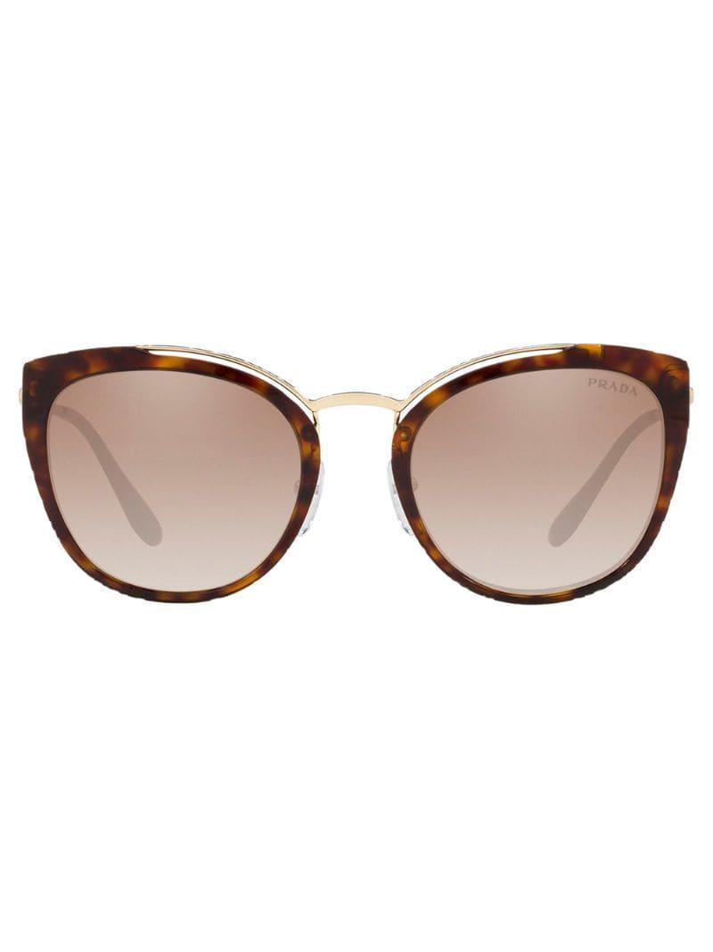 d5baa6c49 Prada - Brown Óculos De Sol Pr 20us - Lyst. View fullscreen