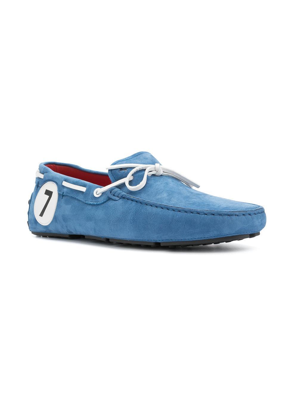 x Ferrari Gommino driving shoes - Blue Tod's rA6kUnk