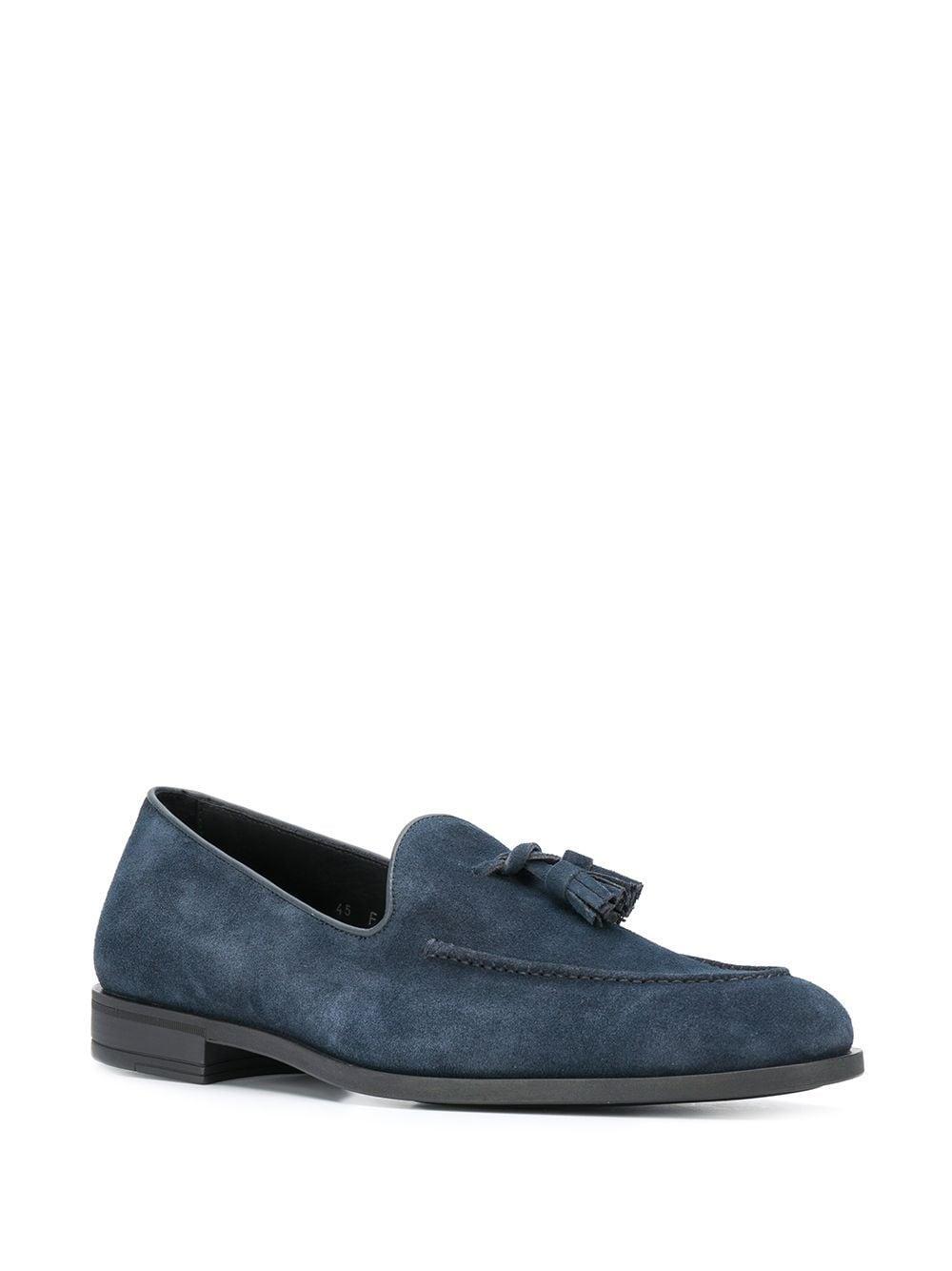 Mocasines con detalles de borlas Harry's Of London de Cuero de color Azul para hombre