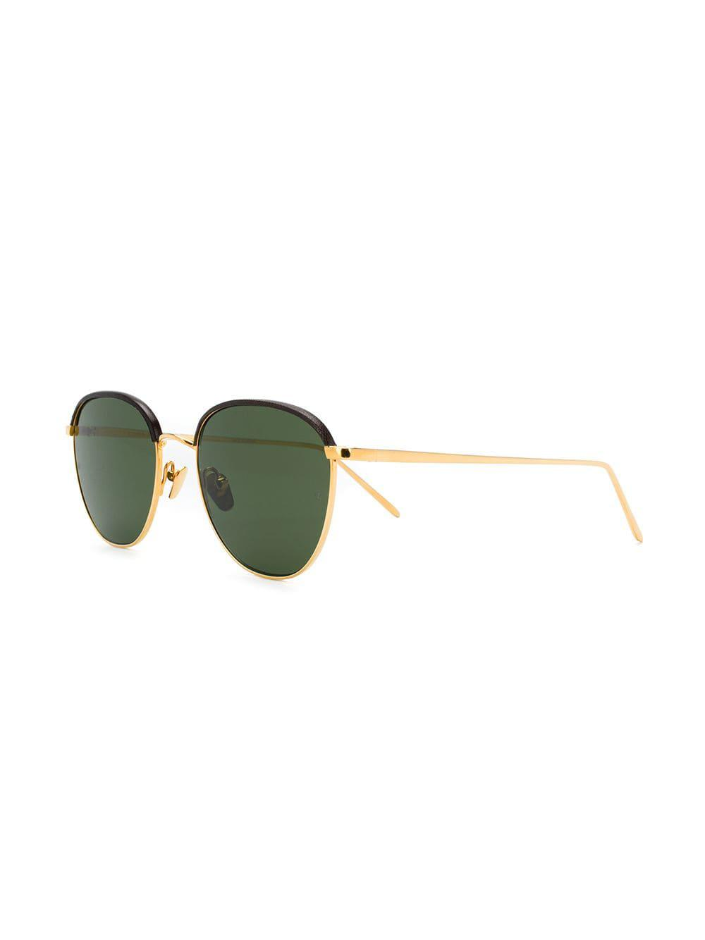 ba9e61bcf2 Linda Farrow - Metallic 819 C6 Sunglasses for Men - Lyst. View fullscreen