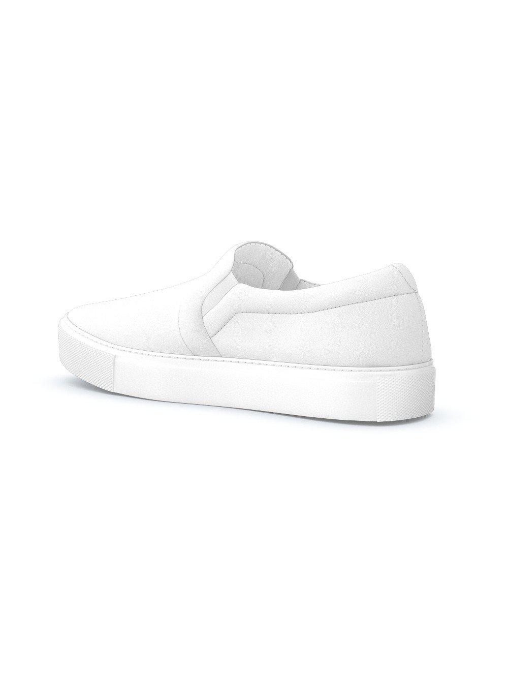Zapatillas Maddox slip-on Swear de Ante de color Blanco