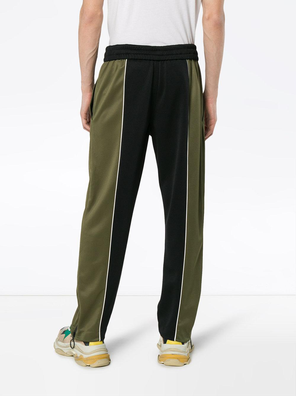 Off-White c/o Virgil Abloh X Browns Green And Black Track Pants for Men