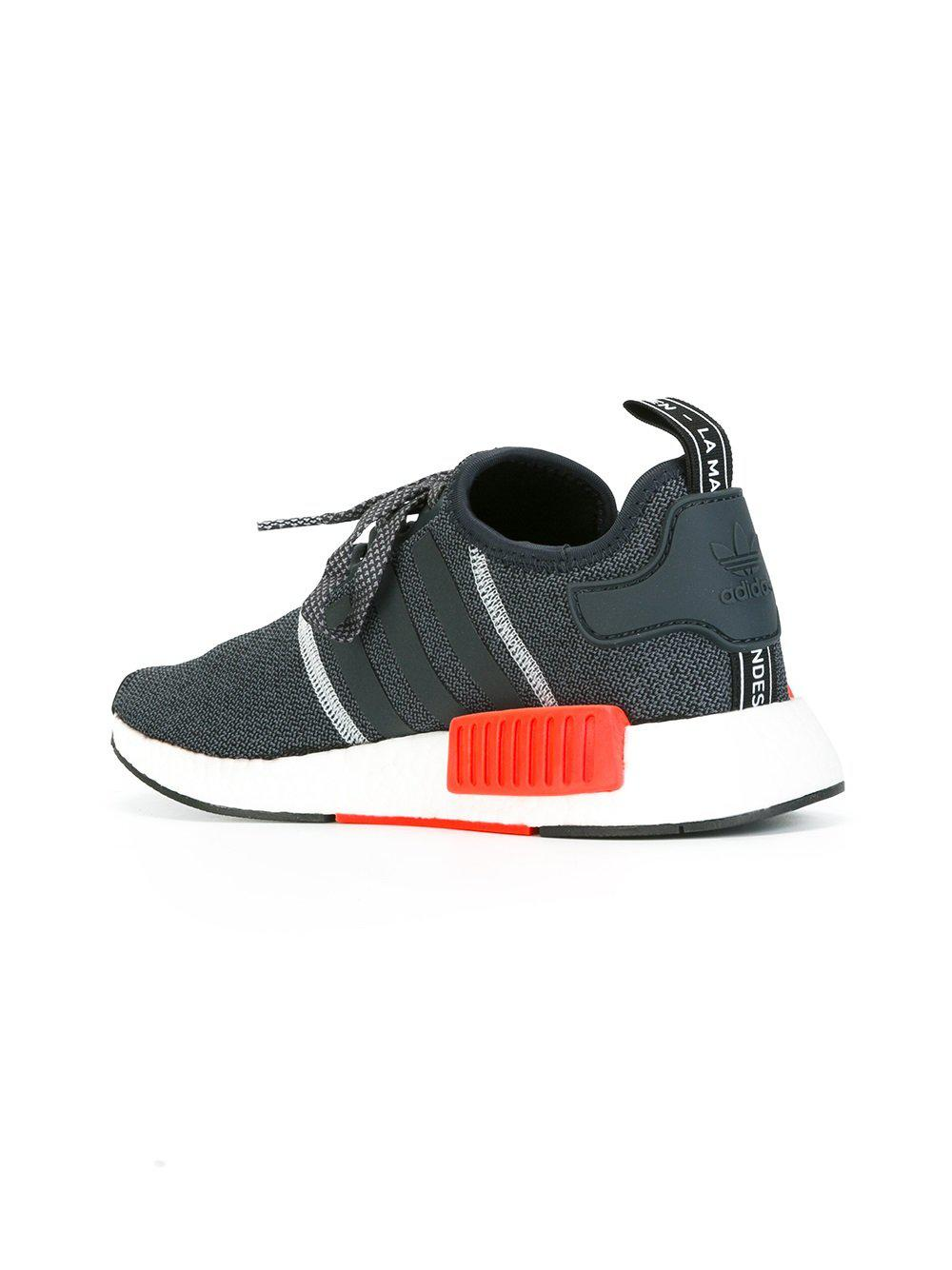 adidas Synthetic 'nmd_r1' Sneakers in Blue