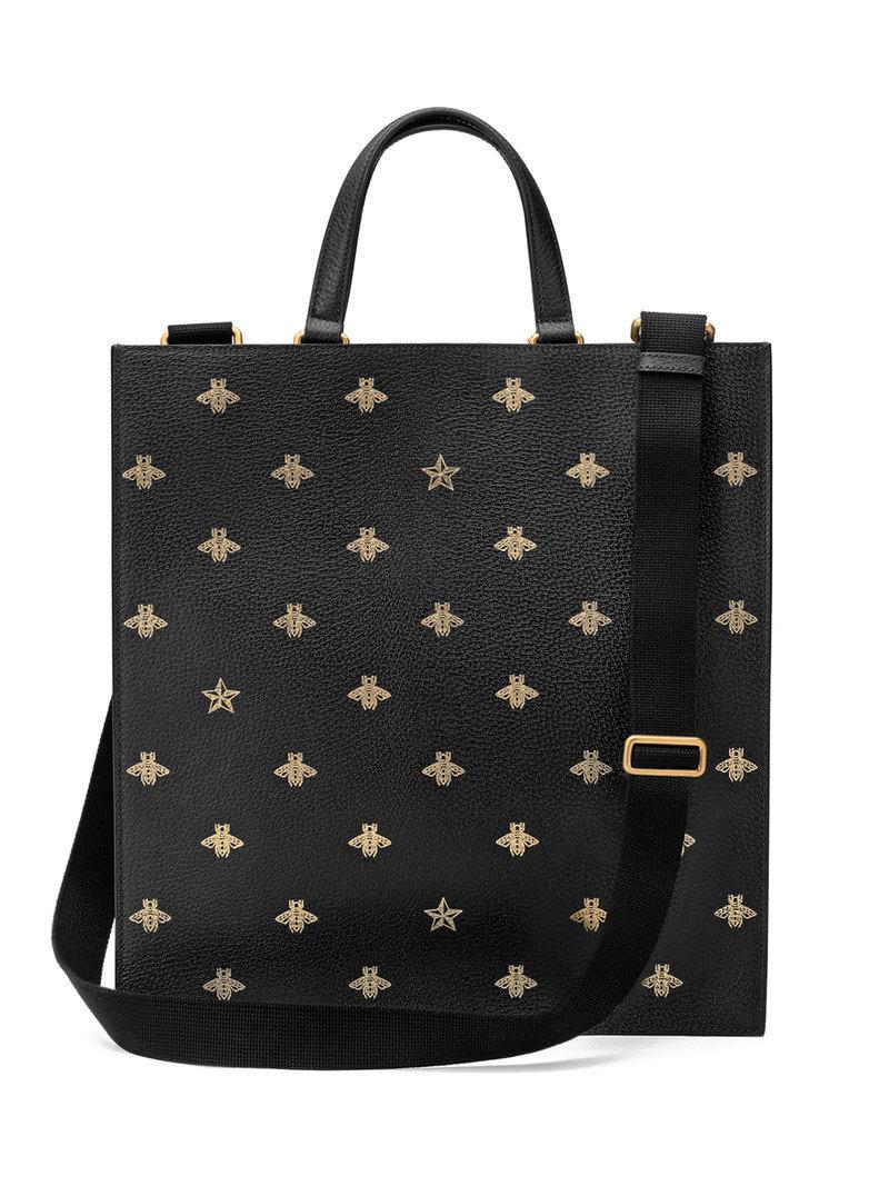 Lyst - Sac à main Bee Star Gucci pour homme en coloris Noir dc2b7752a66